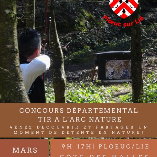 Concours départemental de tir à l''arc nature