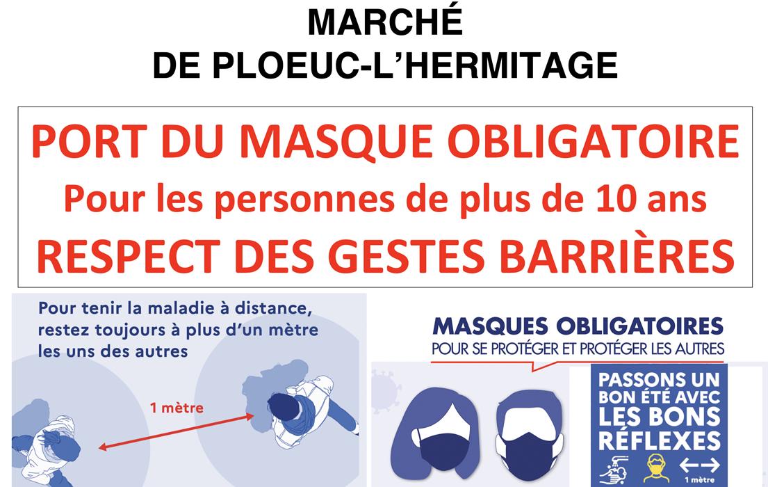 Port du masque obligatoire 0